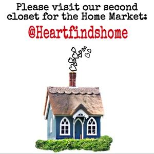 Please checkout our second closet @heartfindshome
